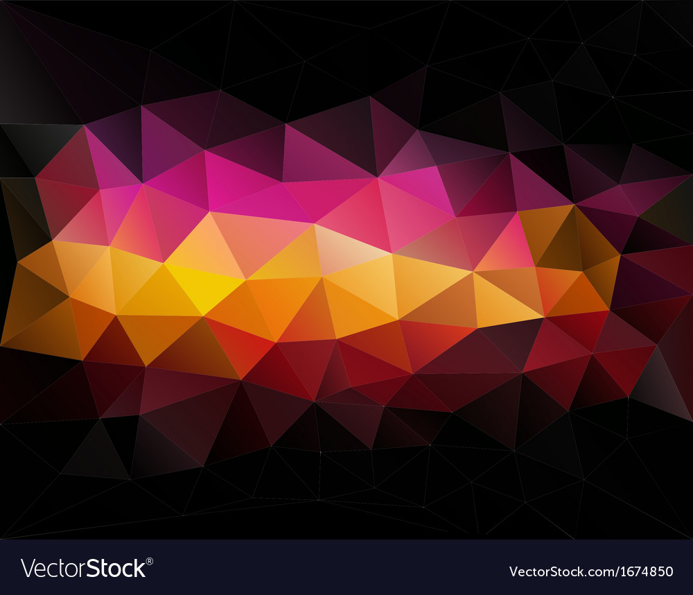 Abstract geometrical triangles background vector | Price: 1 Credit (USD $1)