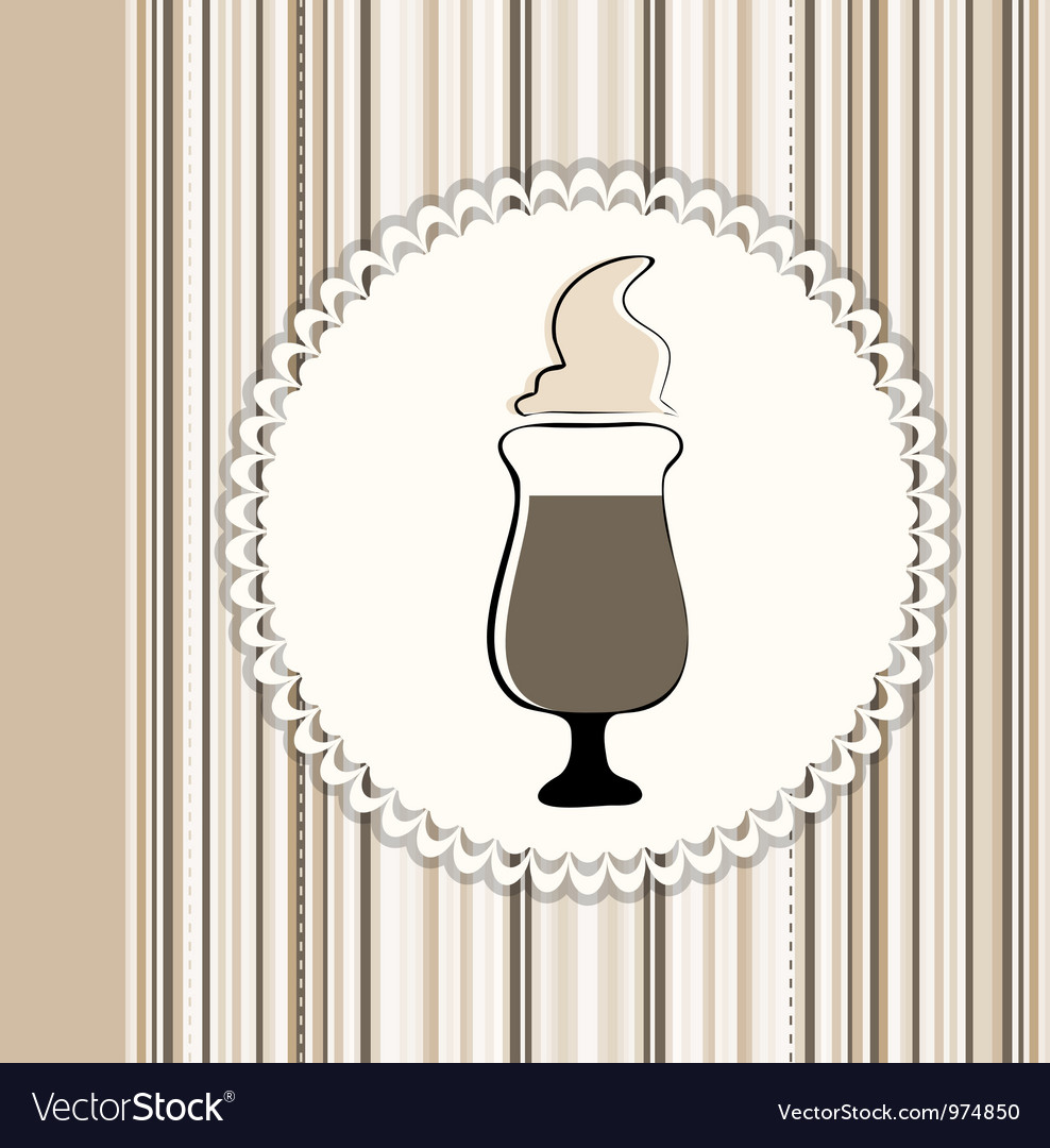 Coffee menu card vector | Price: 1 Credit (USD $1)