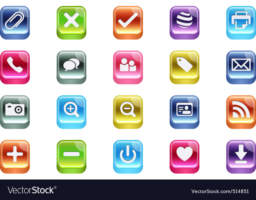 3d web icons vector | Price: 1 Credit (USD $1)
