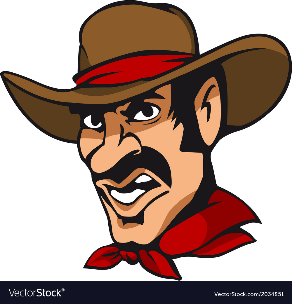 American cowboy vector | Price: 1 Credit (USD $1)