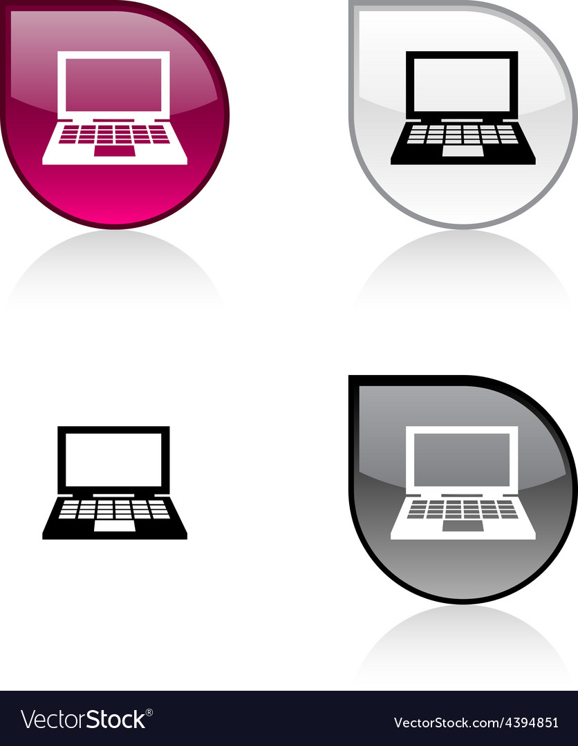 Notebook button vector | Price: 1 Credit (USD $1)