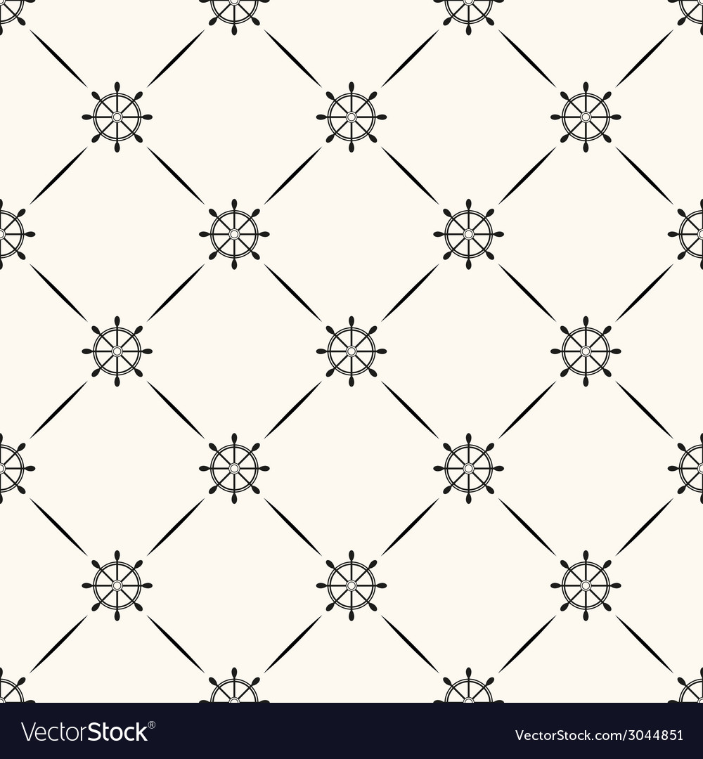 Seamless retro pattern vector | Price: 1 Credit (USD $1)