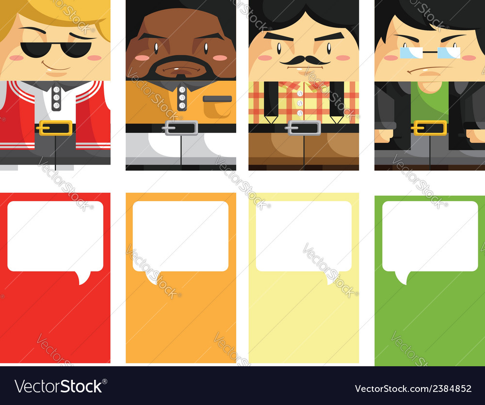Creative business card with customizable 3 vector | Price: 1 Credit (USD $1)