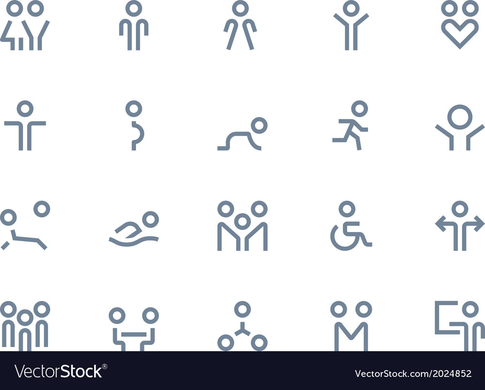 Web design icons vector | Price: 1 Credit (USD $1)