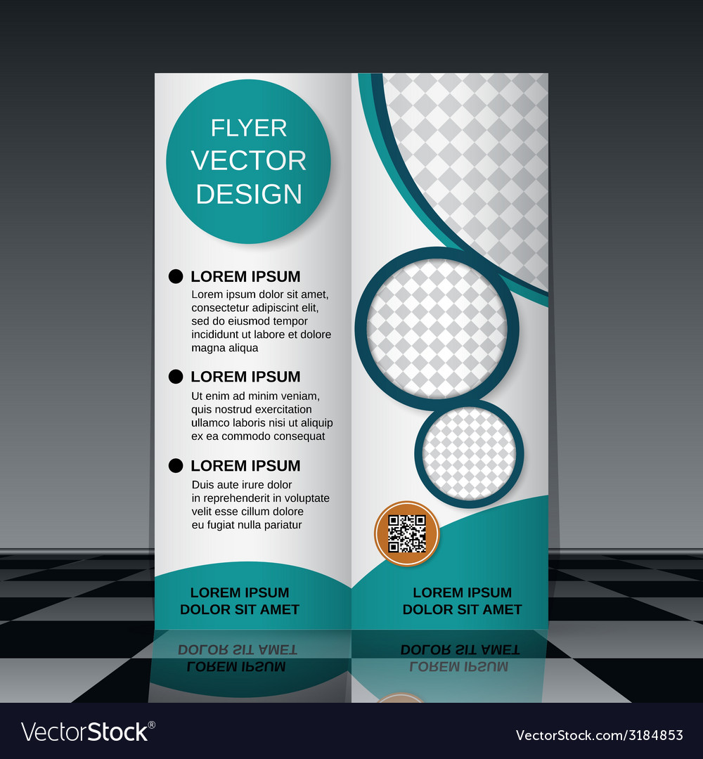 Business flyer template vector   Price: 1 Credit (USD $1)