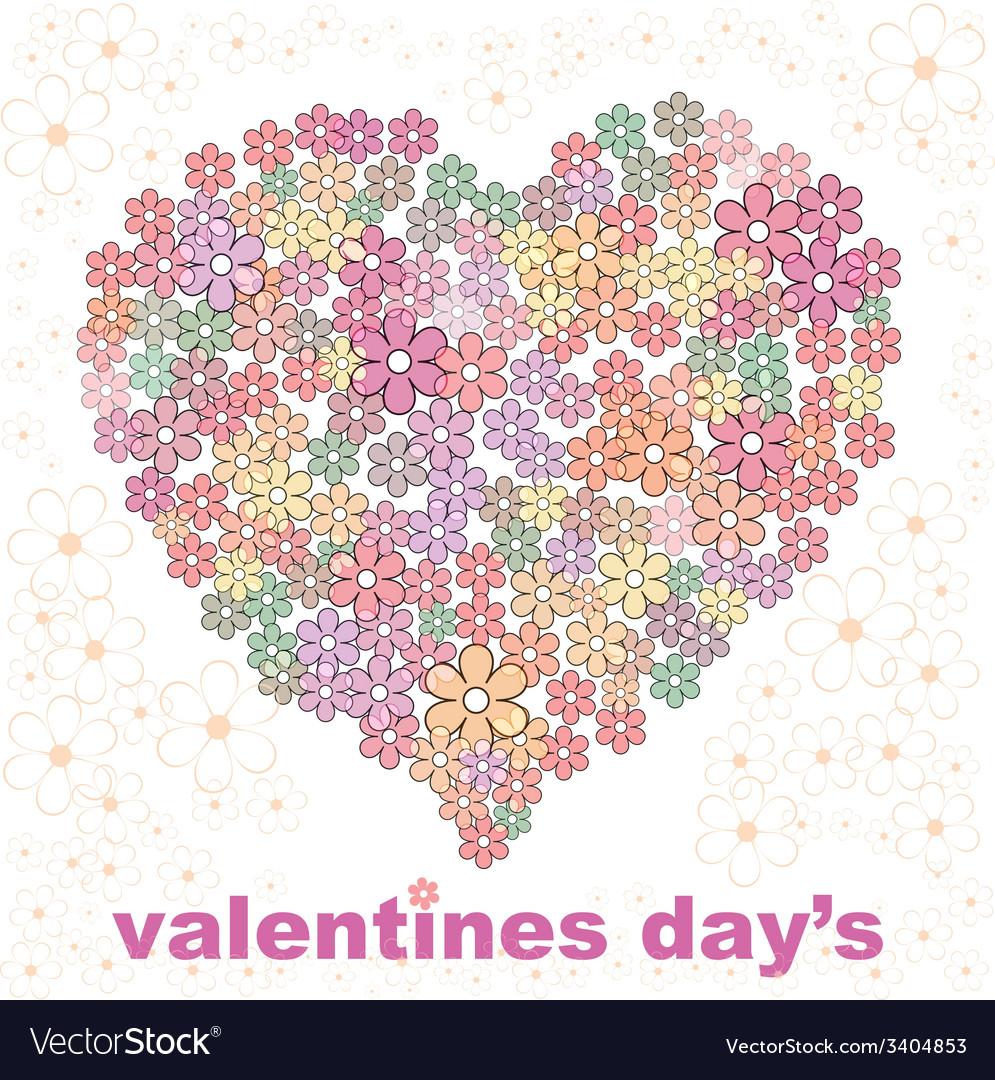 Valentines day design one vector | Price: 1 Credit (USD $1)