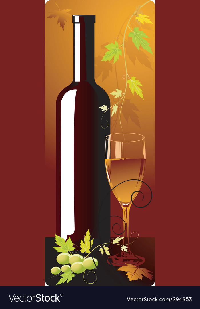 Wine bottle vector | Price: 3 Credit (USD $3)