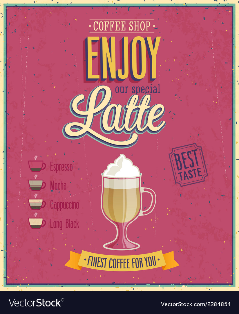 Latte2 vector | Price: 1 Credit (USD $1)