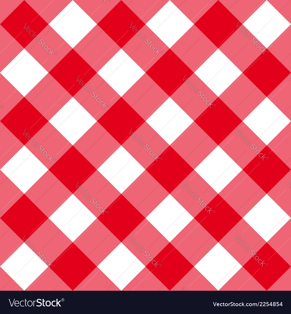 Table diagonal cloth seamless pattern red big size vector | Price: 1 Credit (USD $1)