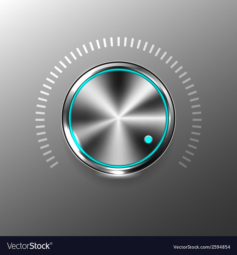 Volume button vector | Price: 1 Credit (USD $1)