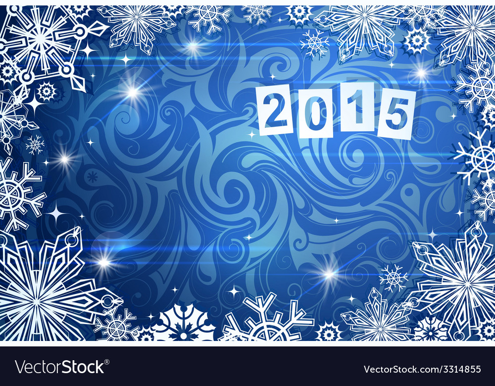 2015 year greeting card vector | Price: 1 Credit (USD $1)