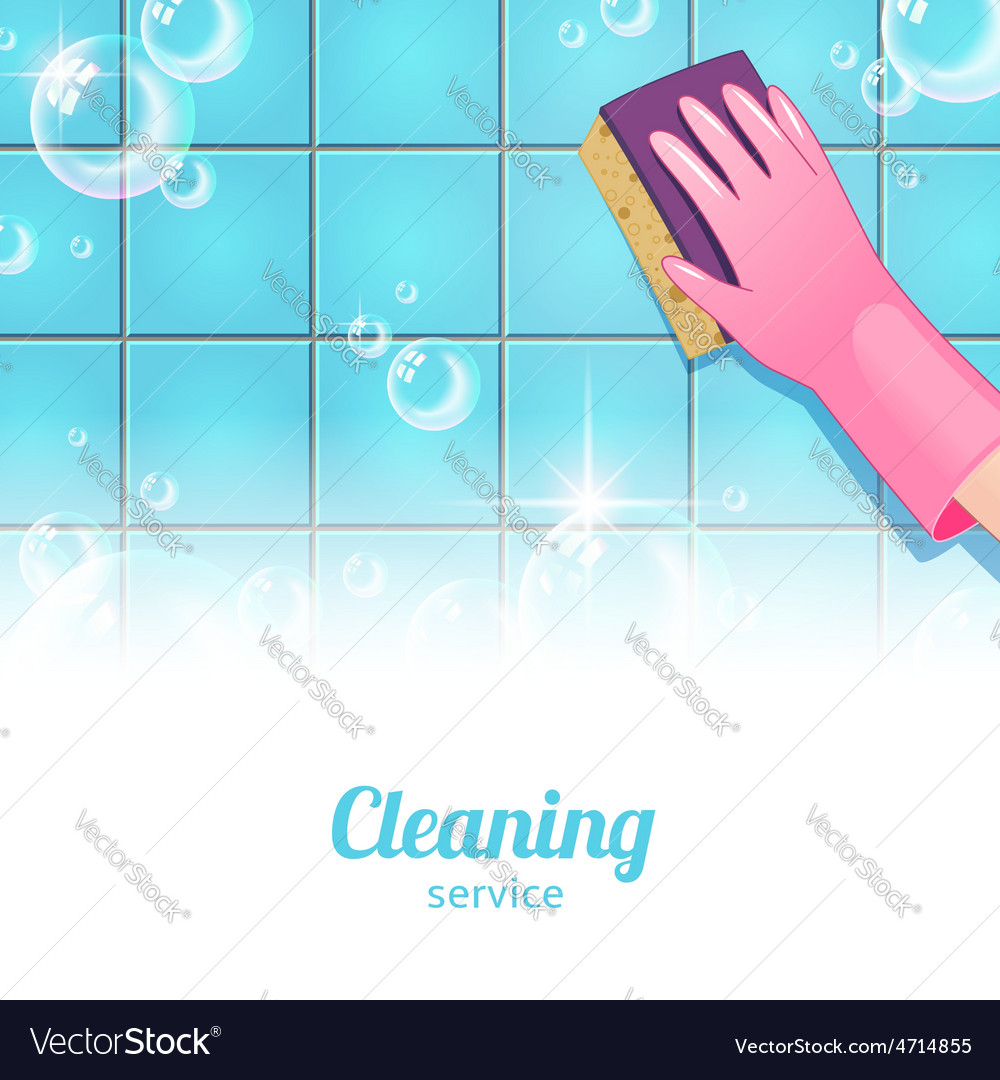 Cleaning background pink vector | Price: 1 Credit (USD $1)