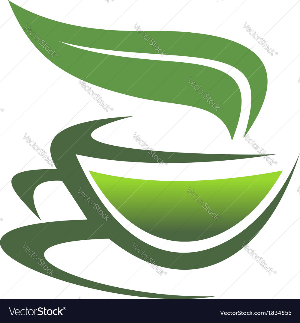 Steaming cup of tea vector | Price: 1 Credit (USD $1)