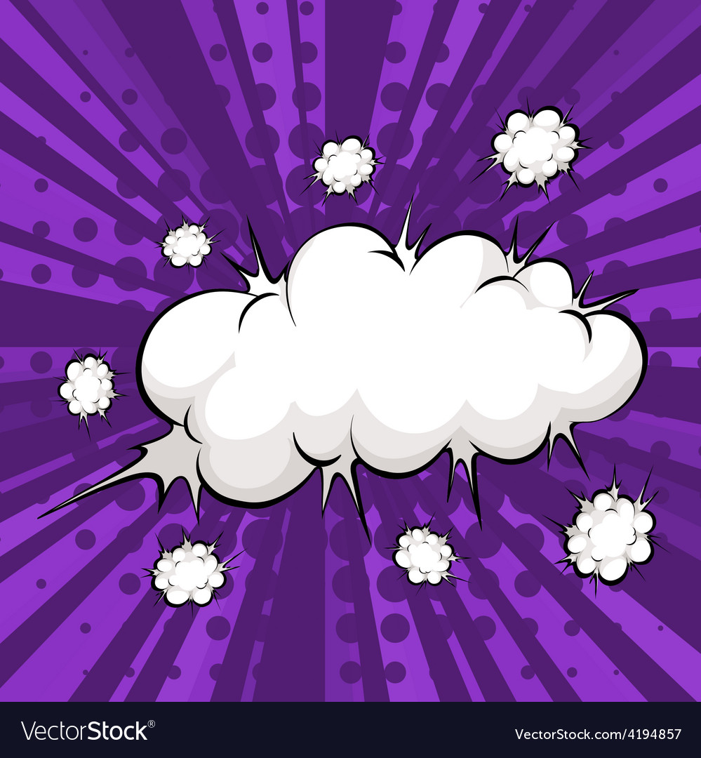 Cloud bubble vector | Price: 1 Credit (USD $1)