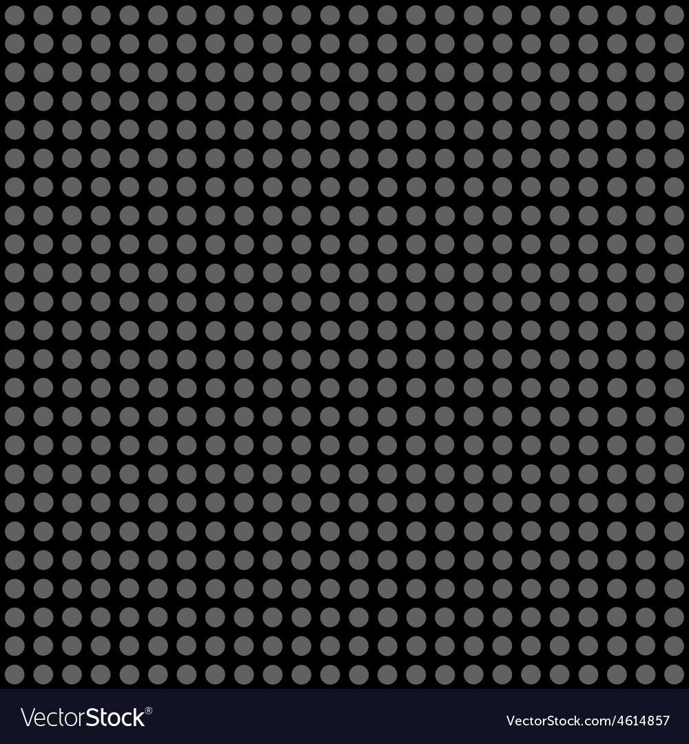 Seamless pattern gray polka dots vector | Price: 1 Credit (USD $1)