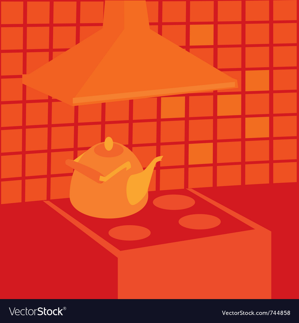 Boiling kettle vector | Price: 1 Credit (USD $1)