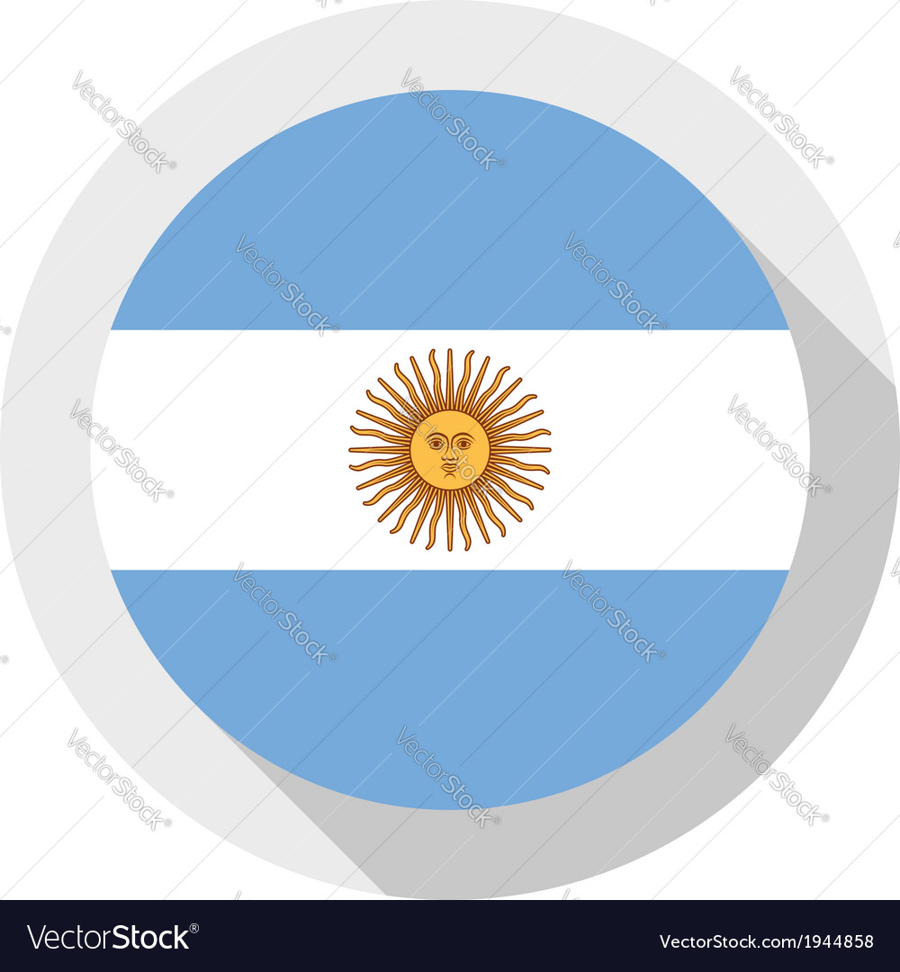 Flag of argentina vector   Price: 1 Credit (USD $1)