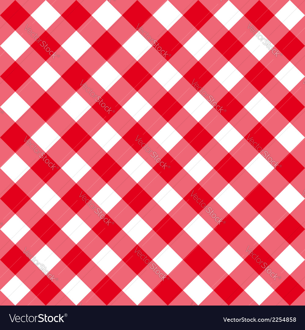 Table diagonal cloth seamless pattern red middle vector | Price: 1 Credit (USD $1)