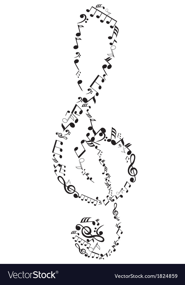 Abstact clef vector | Price: 1 Credit (USD $1)