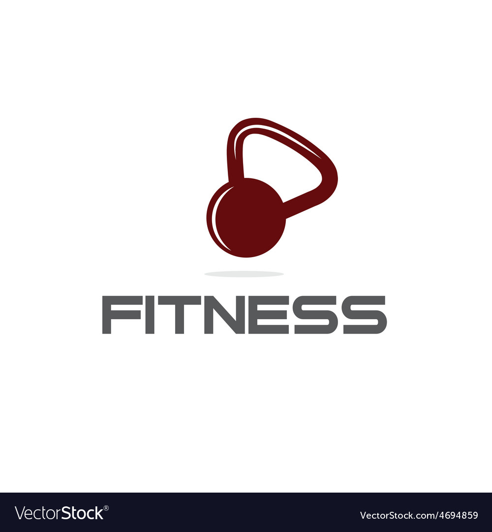 Kettlebell fitness vector | Price: 1 Credit (USD $1)