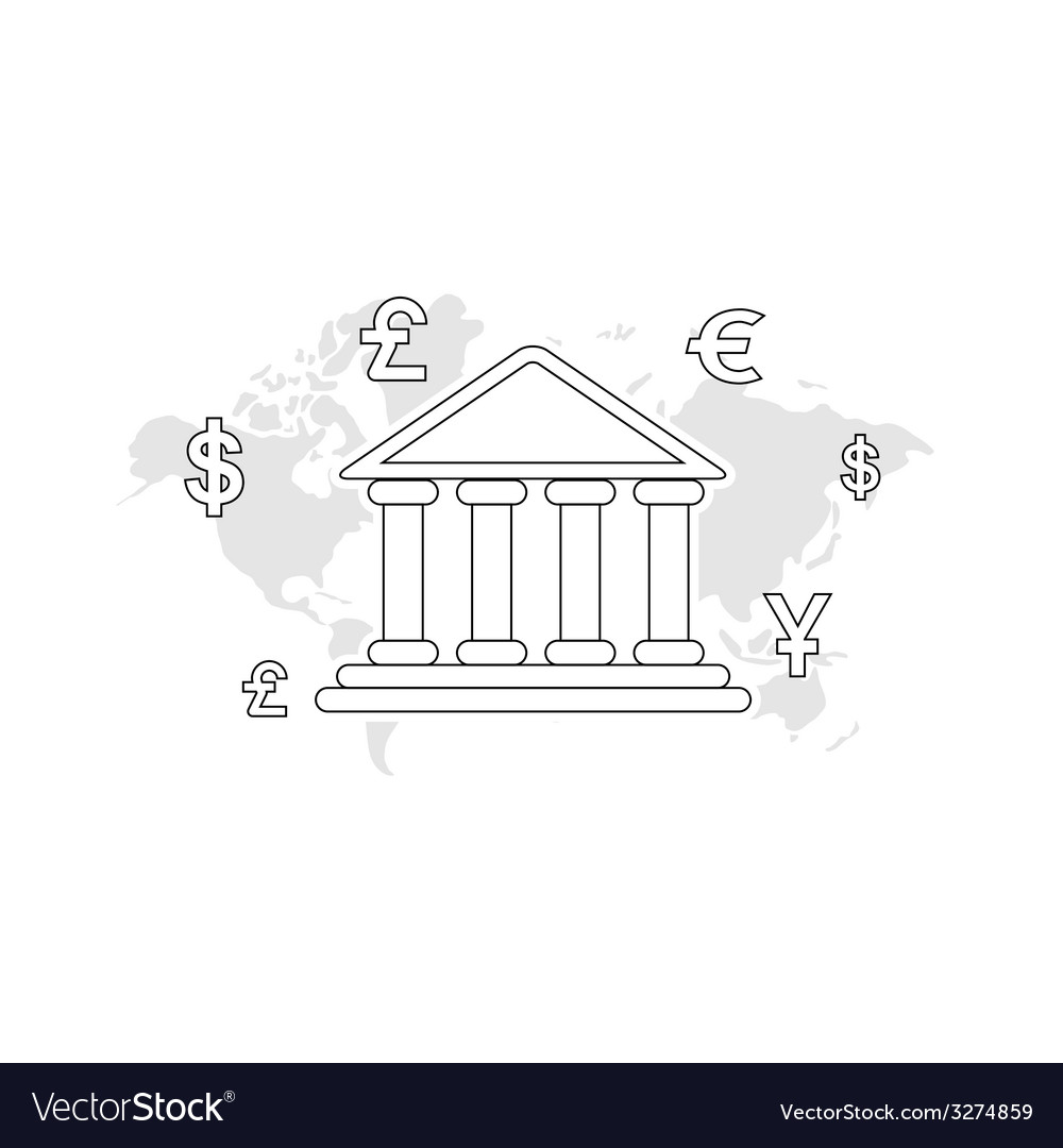 Payment via bank transfer vector | Price: 1 Credit (USD $1)