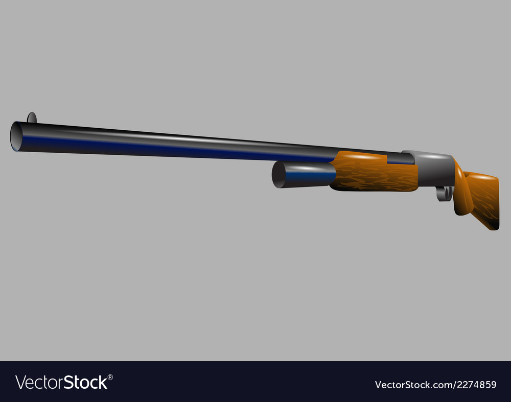 Shotgun vector | Price: 1 Credit (USD $1)
