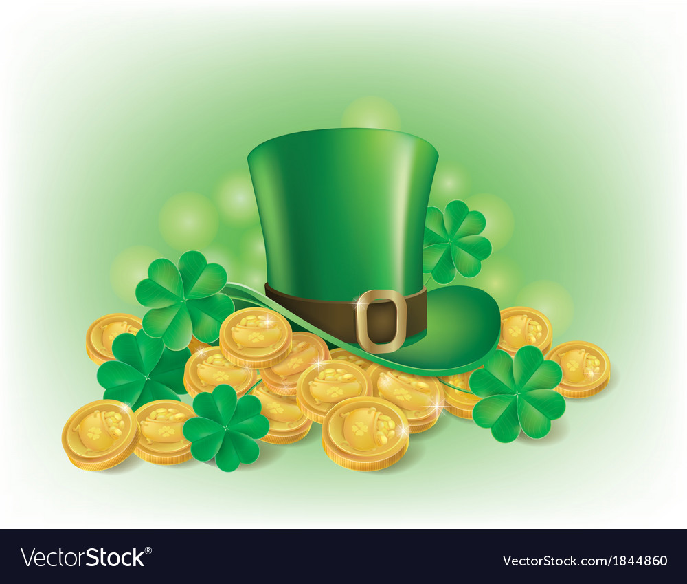 St patricks day symbolics vector | Price: 3 Credit (USD $3)