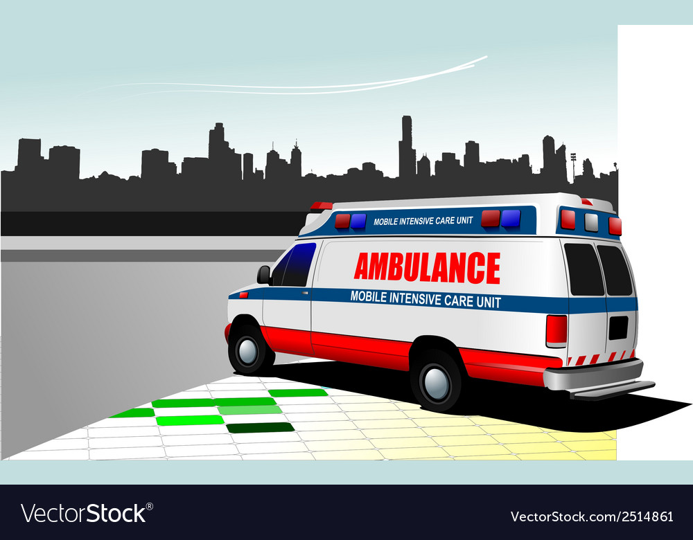 Al 0219 ambulance vector | Price: 1 Credit (USD $1)