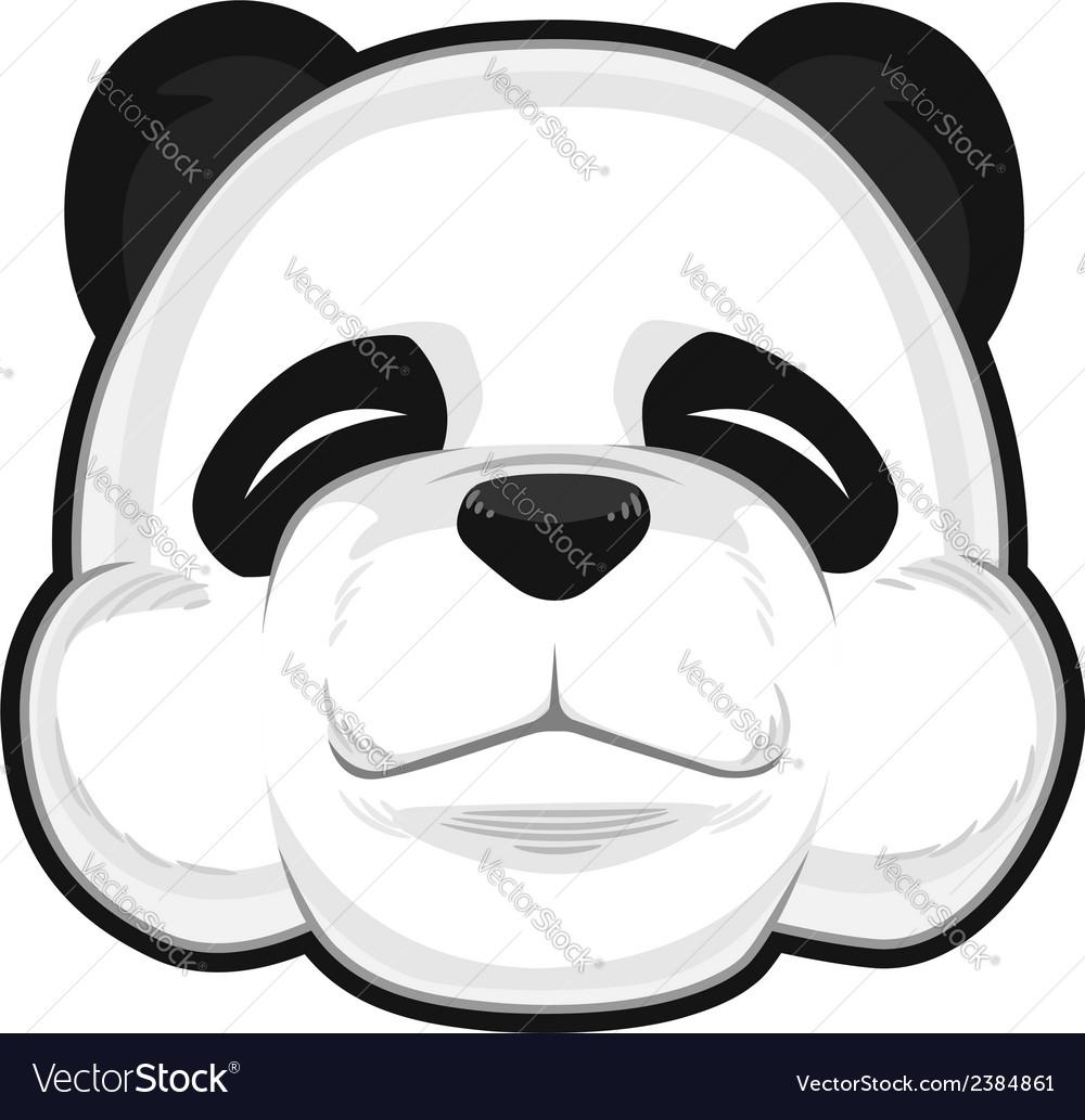 Cute panda vector | Price: 1 Credit (USD $1)