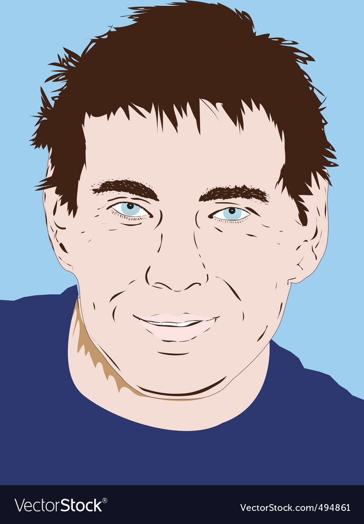 Male person vector | Price: 1 Credit (USD $1)