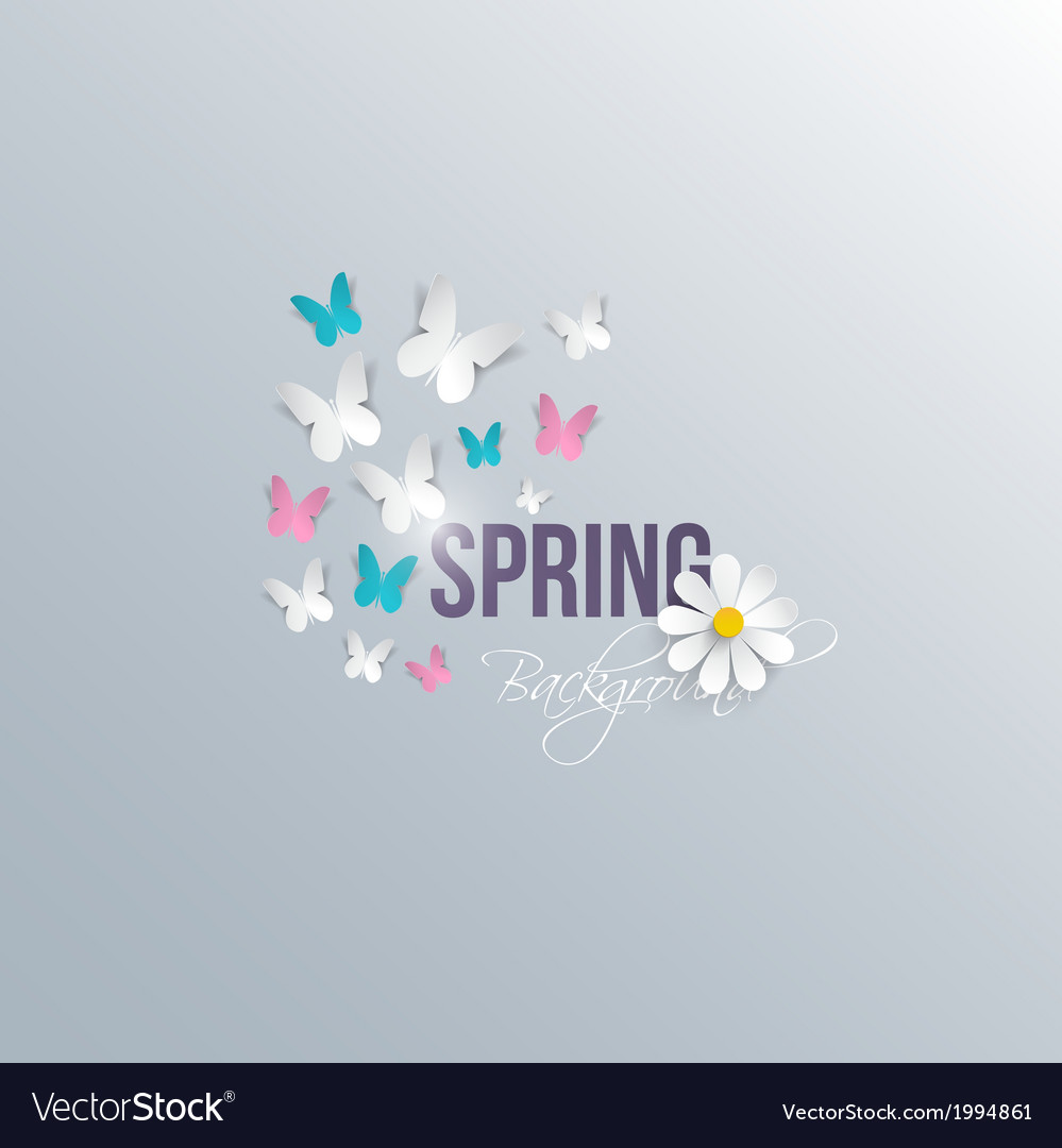 Spring background 5 vector | Price: 1 Credit (USD $1)