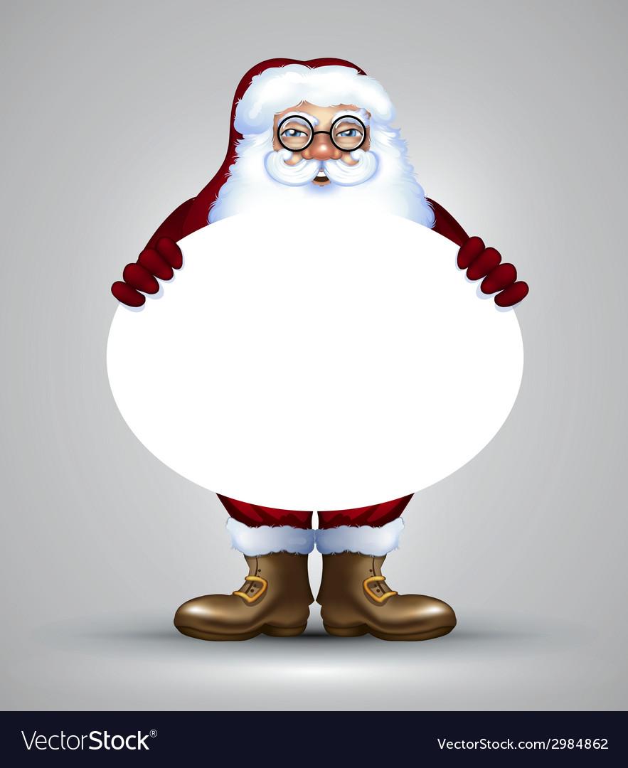Santa christmas design vector | Price: 3 Credit (USD $3)