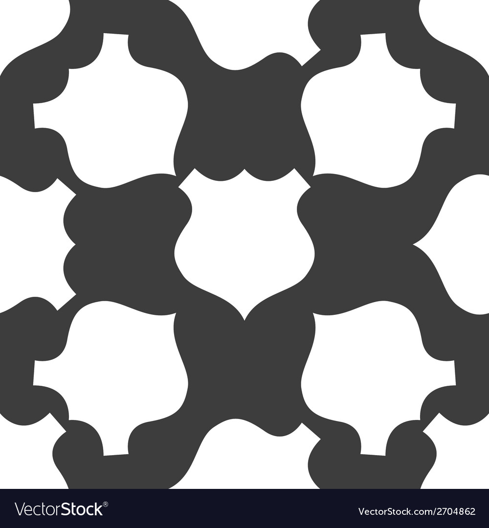 Shield web icon flat design seamless gray pattern vector | Price: 1 Credit (USD $1)