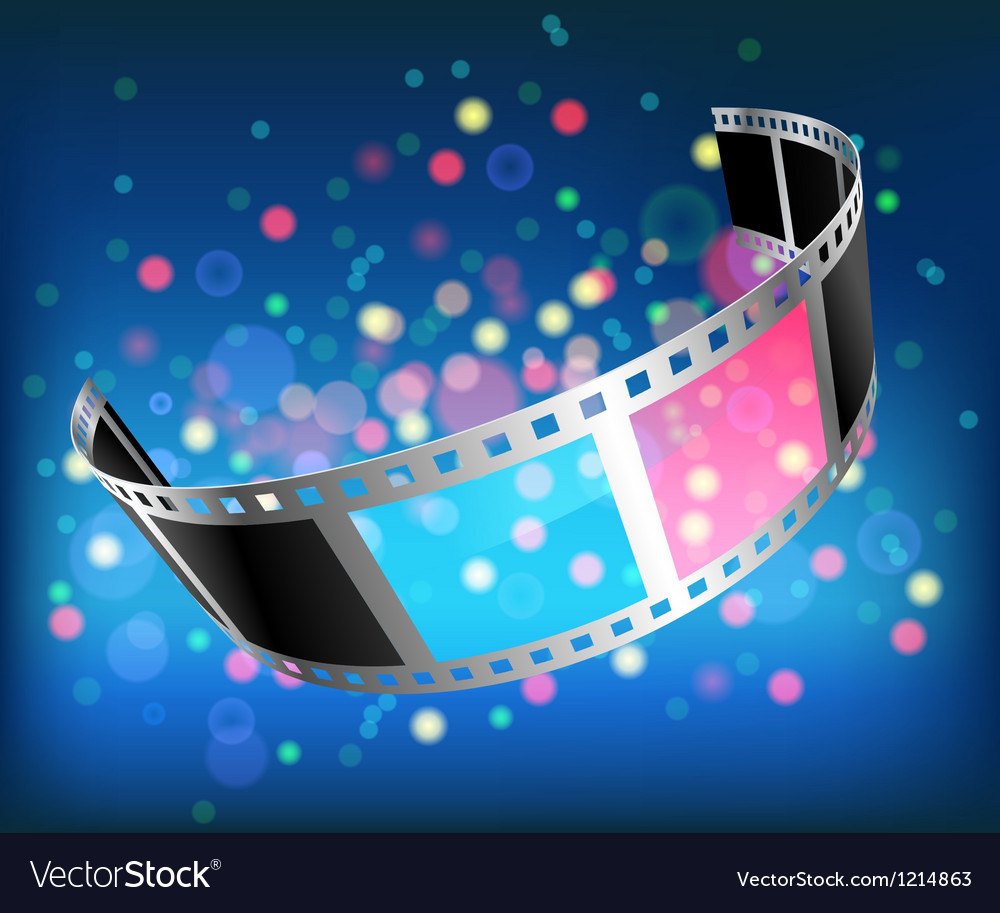 Film 3d vector | Price: 1 Credit (USD $1)