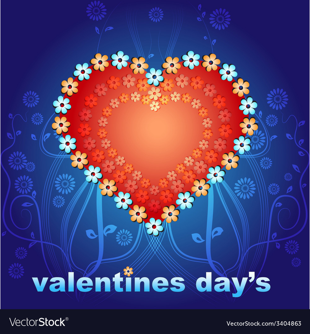 Valentines day two vector | Price: 1 Credit (USD $1)