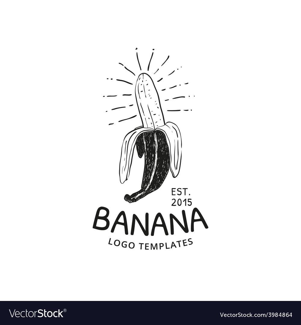 Banana logo vector | Price: 1 Credit (USD $1)