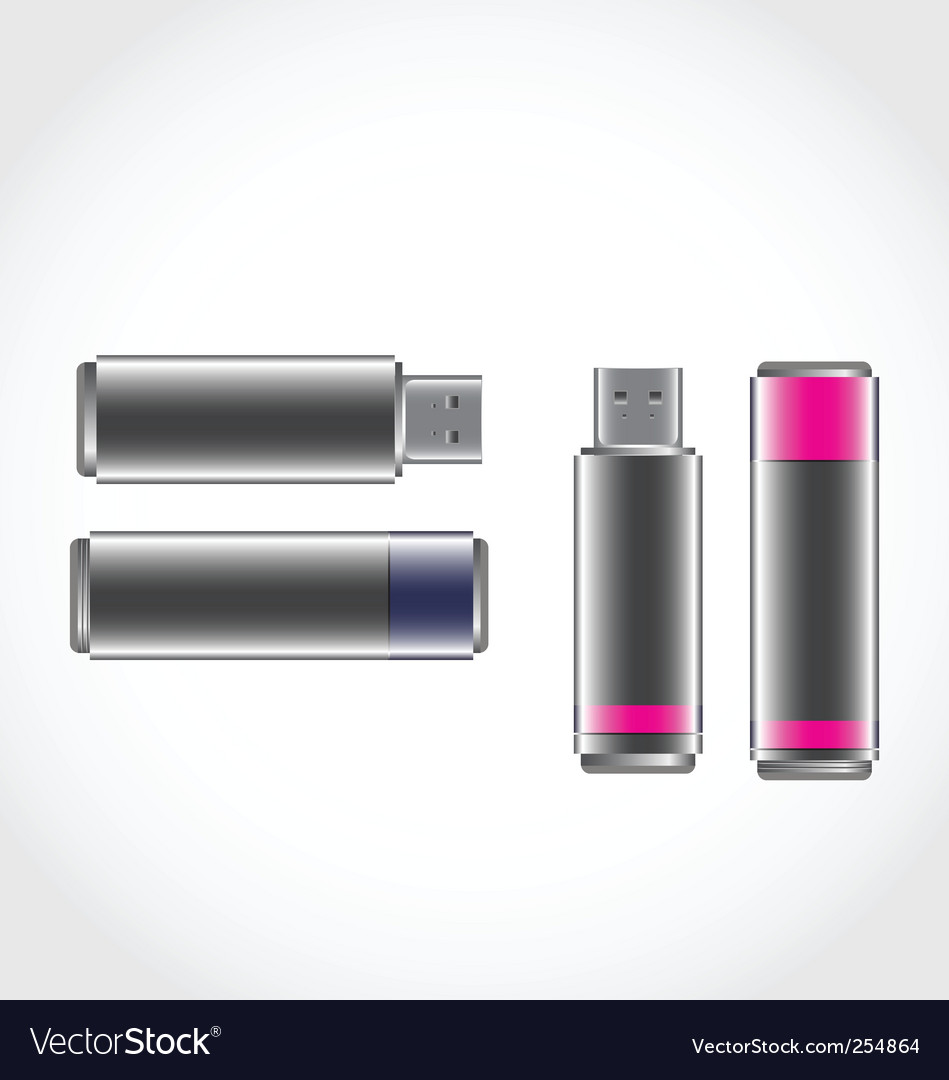 Usb stick vector | Price: 1 Credit (USD $1)