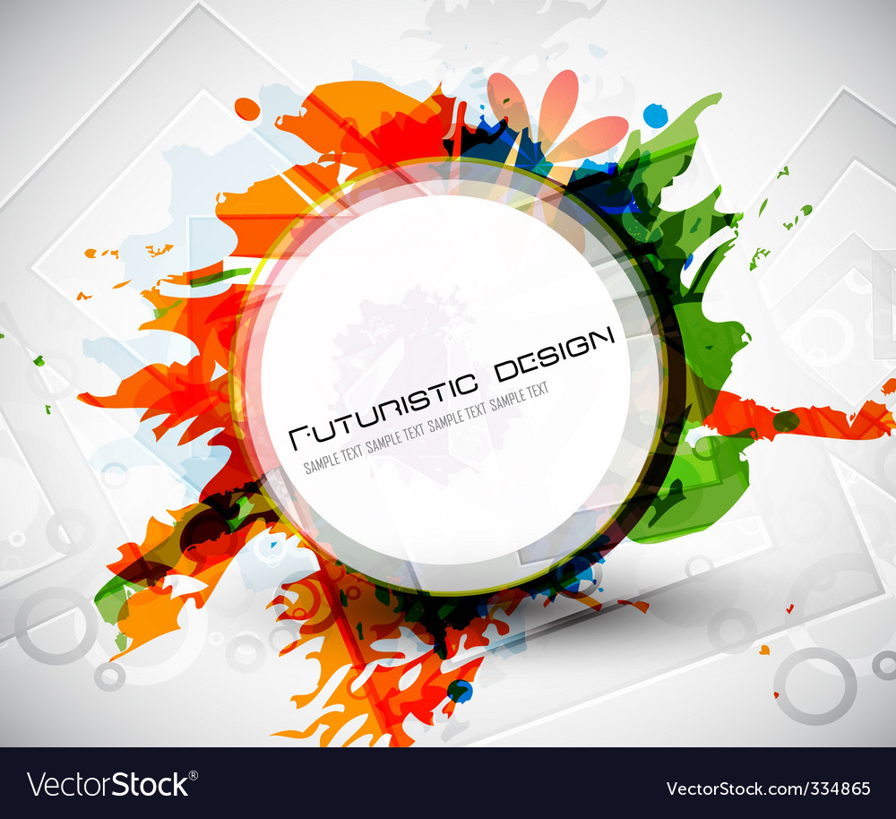 Futuristic design grunge vector | Price: 1 Credit (USD $1)
