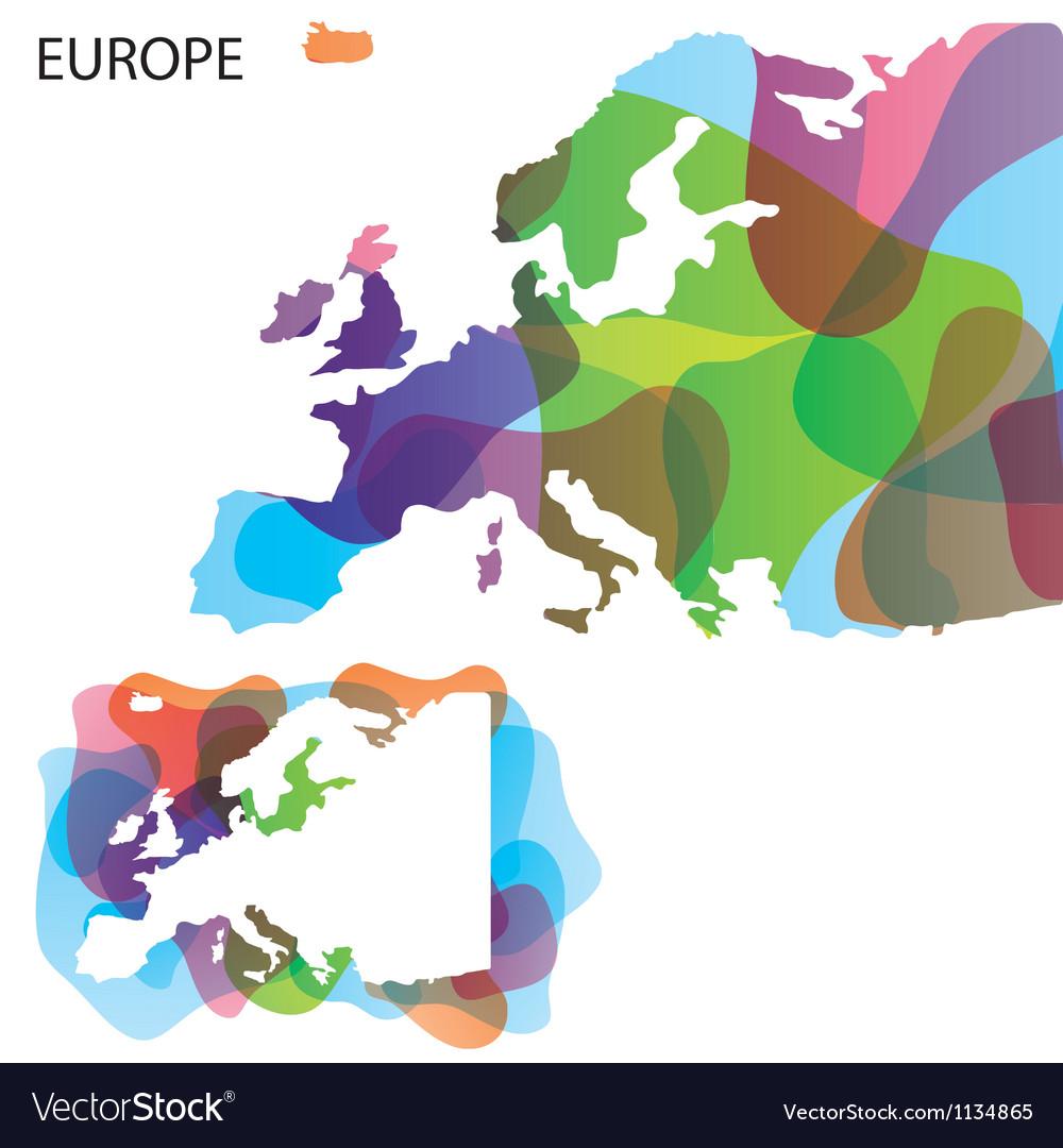 Map art europe 01 vector   Price: 1 Credit (USD $1)