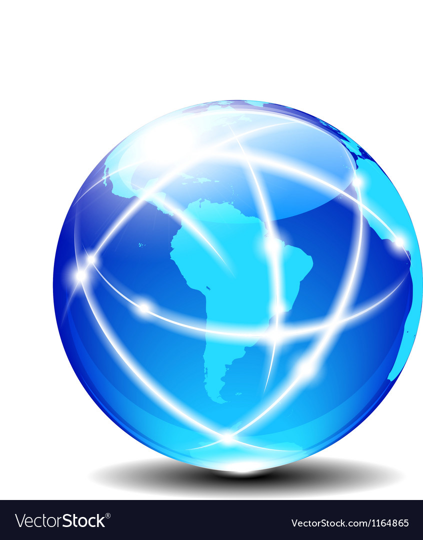 South latin america global communication vector   Price: 1 Credit (USD $1)