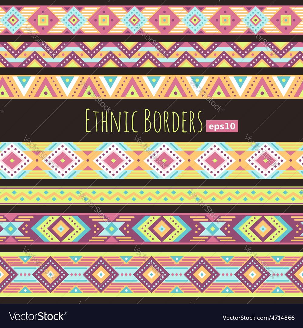 Ethnic borders tropic vector   Price: 1 Credit (USD $1)