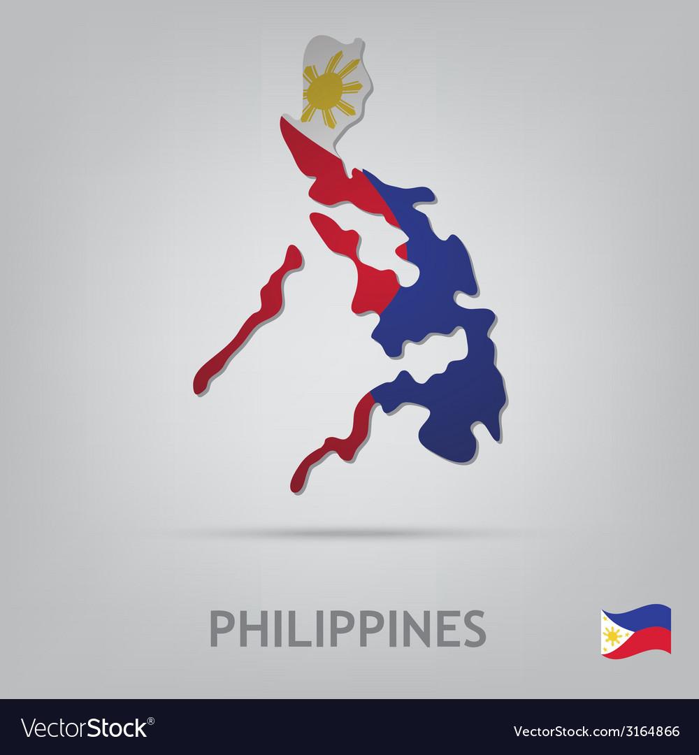 Philippines vector | Price: 1 Credit (USD $1)