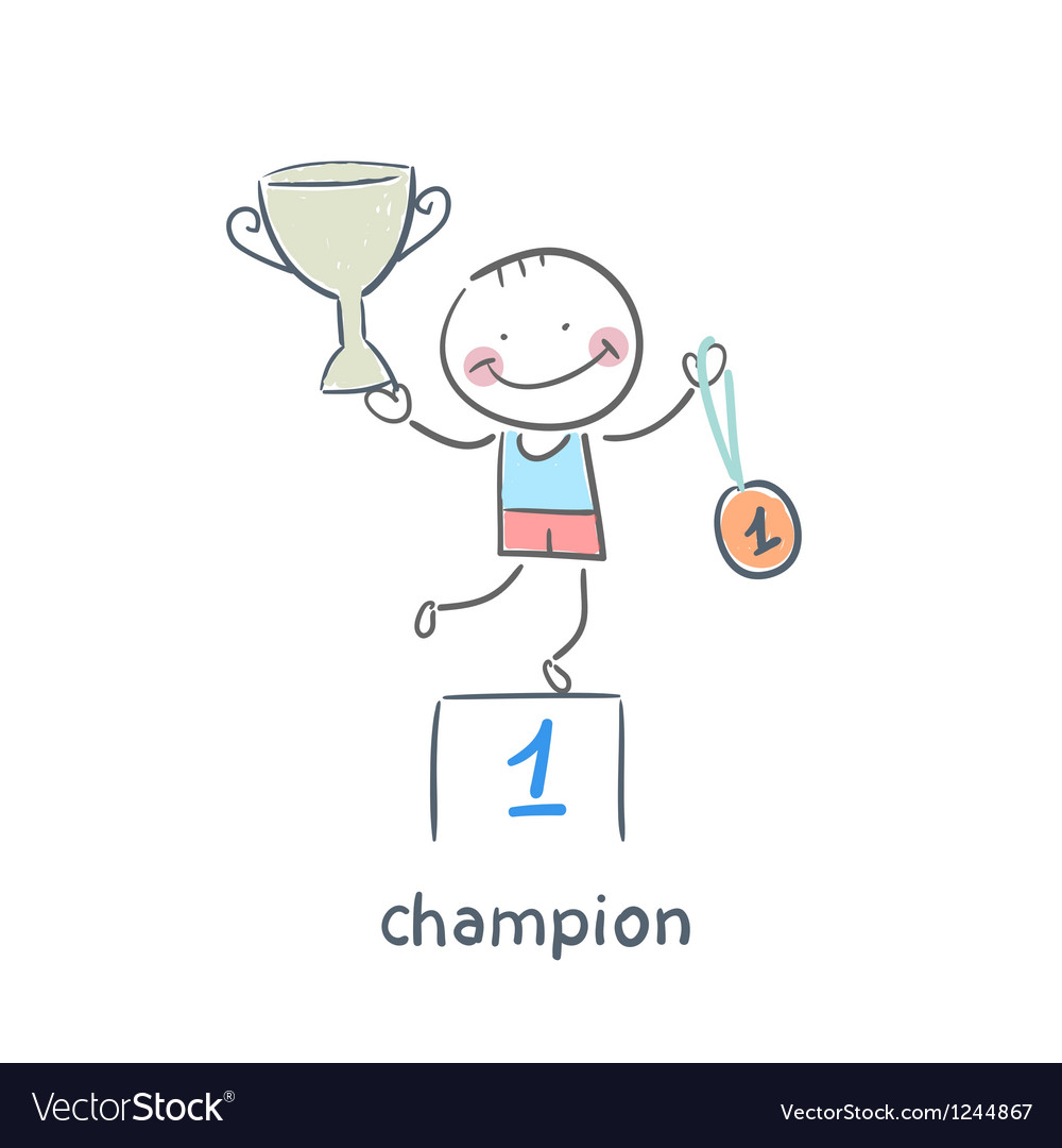 Champion vector | Price: 1 Credit (USD $1)