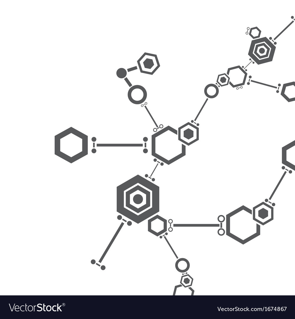 Molecular structure vector | Price: 1 Credit (USD $1)