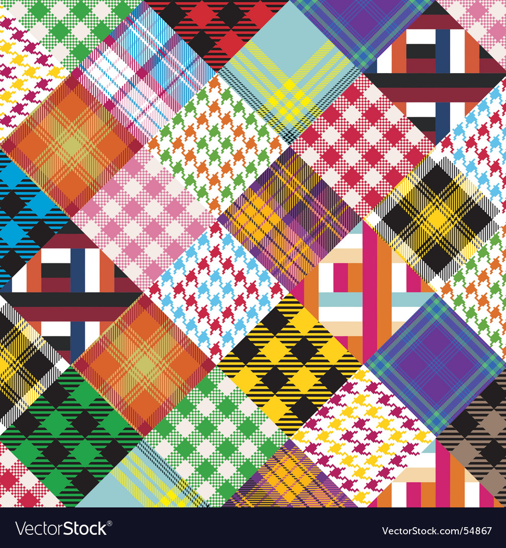 Patchwork vector | Price: 1 Credit (USD $1)