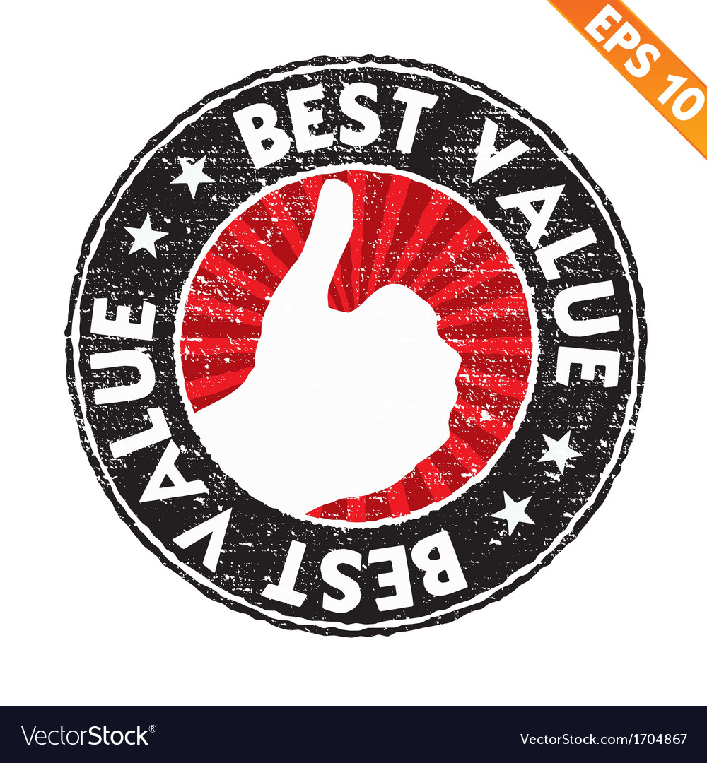 Stamp sticker best value collection - - eps vector | Price: 1 Credit (USD $1)