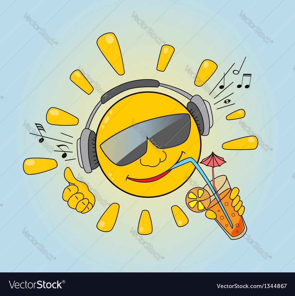 Sun vector | Price: 1 Credit (USD $1)