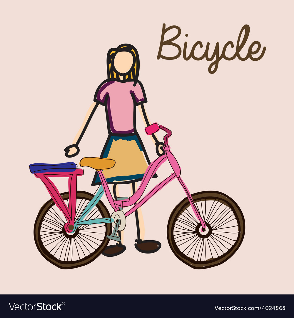 Bicycle desing vector | Price: 1 Credit (USD $1)