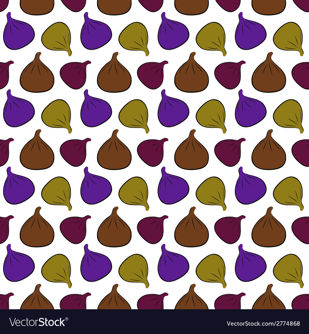 Figs pattern vector | Price: 1 Credit (USD $1)