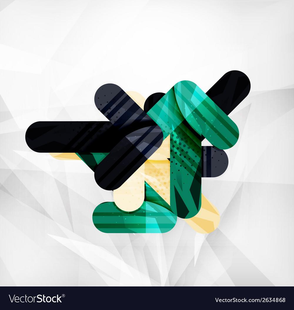 Modern web presentation design layout vector   Price: 1 Credit (USD $1)